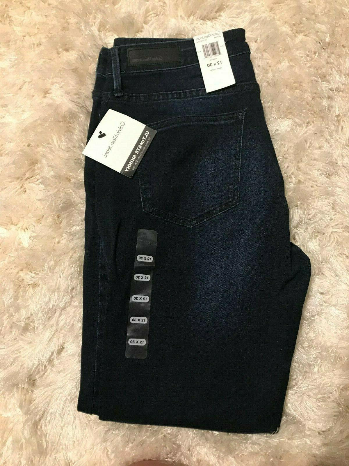 Calvin Jeans Ultimate SKINNY Jeans Fit Waist 4-10