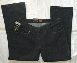 NWT Women's Dickies Denim Relaxed Fit Boot Cut Mid Rise Size
