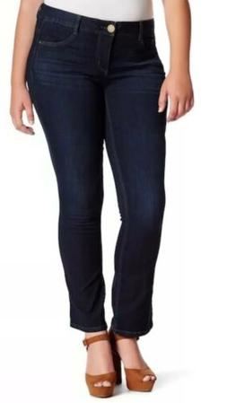 """NWT Democracy Womens Plus-Size 22W """"Ab""""Solution Jeans In"""