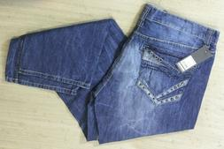 "Pepe Jeans Relaxed Straight Mens Blue Denim Jeans Size 40"" x"