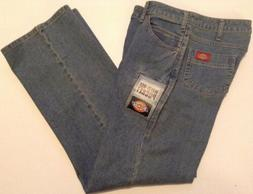 Dickies Women's Size 6 Reg Blue Jeans 6-pockets Casual Fit S