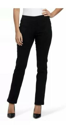 Gloria Vanderbilt  Zoey Slimming Straight Leg Pull On Pants,